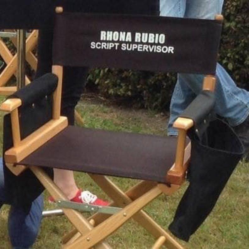 Rhona's chairback