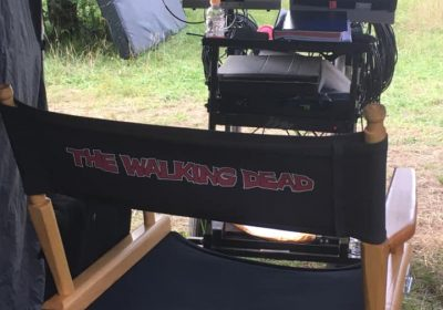 Tonis setup on the Walking Dead